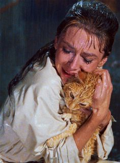 My favorite scene from my fav old movie. Audrey Hepburn in Breakfast at Tiffany's (1961)