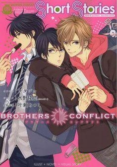 Brothers Conflict feat. Tsubaki & Azusa  manga  Brothers conflict, Brother, Anime love