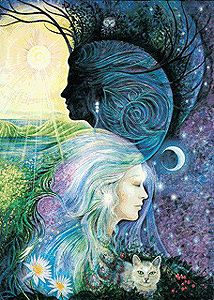 If we truly love ourselves, in spite of our flaws, then we can love others in spite of theirs. ~ Stephen Richards      Pamela Matthews goddess painting