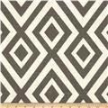 Richloom Ikat Marlena Graphite - Discount Designer Fabric - Fabric.com