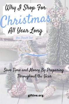 I save time and money by shopping for Christmas all year long, plus.I enjoy it! Here's my explanation of why I shop for Christmas 12 months a year. Saving Money For Christmas, Christmas Shopping, Christmas Morning, Christmas Holidays, Small Gifts, Great Gifts, Buy Clothes Online, Valentines Gifts For Her, Initial Bracelet