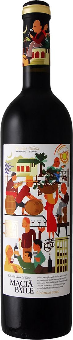 Wine packaging design- I visited this winery in Mallorca, Spain last month.