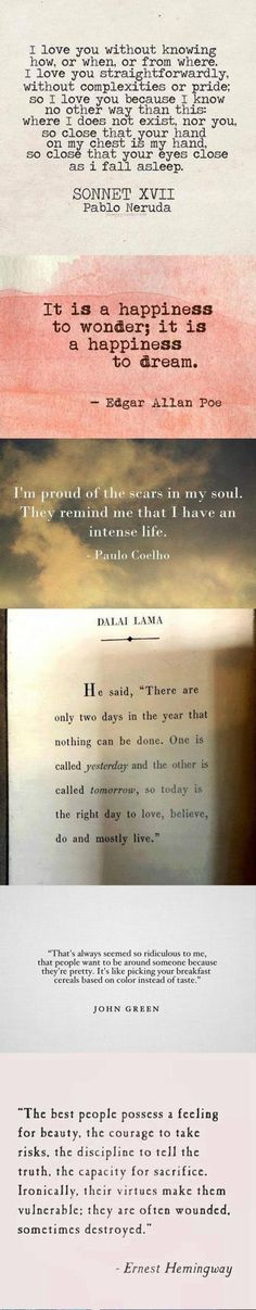 Some beautiful quotes to get through the day... | WannaLOL
