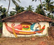 Inspiring Indian Murals in KeralaArt and design inspiration from around the world – CreativeRoots