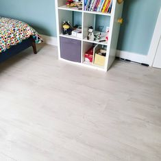 Pergo Light Fjord Oak wide and long plank flooring is water resistant. Ideal for any kitchen , hallway or living room. Available from our showrooms and online