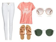 """""""a day in san fran:)"""" by lilkfo on Polyvore featuring Old Navy, Burberry, KYMA, Chloé and Ray-Ban"""
