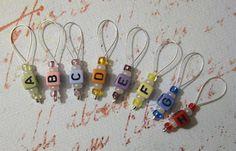Fun stitch markers