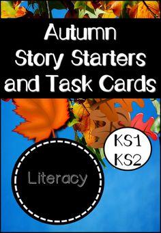 Autumn Story Starters and Task Cards #eyfs #KS1 #KS2 #bargains #education #teachers #resources #lessons #teach #eduUK #edUK #edchat