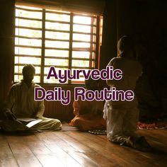 Check out this article on a healthy daily routine to help you with your natural health based in Ayurvedic Medicine.