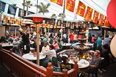 Pacific Beach in San Diego is always a fun time. PB Bar and Grill is a blast.