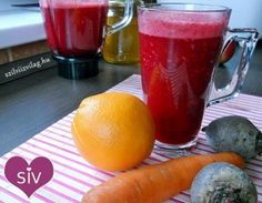 Cékla-répa-narancs turmix (smoothie) Healthy Drinks, Healthy Dinner Recipes, Health 2020, Nutribullet, Natural Life, Milkshake, Meat Recipes, Smoothies, Food To Make