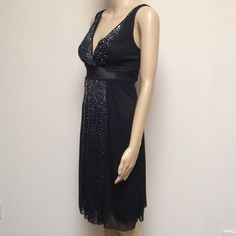 Little Black Dress Pretty Little black dress with embellishments! Material: 100% Polyester. Made in USA. Worn only once or twice. In perfect condition. Ruby Rox Dresses