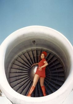 {PSA Flight Attendant} circa sixties