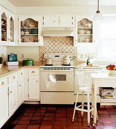 neutral kitchen, cabinets.