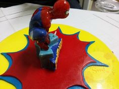 Something Sweet by SM - Spiderman Cake