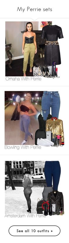 """""""My Perrie sets"""" by laurenbeth15 ❤ liked on Polyvore featuring Topshop, Valentino, Jeffree Star, Givenchy, Marc Jacobs, Sophia Webster, River Island, Annello, maurices and perrieedwards"""