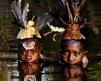 The Surma people in the Omo Valley, Ethiopia photo by Giordano Cipriani