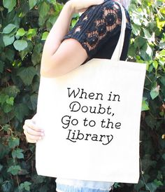 Library Tote Bag | 21 Harry Potter School Supplies That Will Make You A Total Hermione