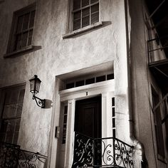 Home on Monterey Square in Savannah