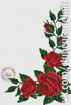 Easiest Crochet Frills Border Ever! Cross Stitch Bird, Cross Stitch Borders, Cross Stitch Flowers, Cross Stitching, Cross Stitch Embroidery, Cross Stitch Patterns, Hand Embroidery Videos, Embroidery Fabric, Seed Bead Patterns