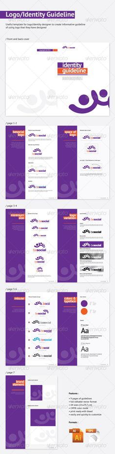 Morisco brand manual Manual and Brand manual - it manual templates to download