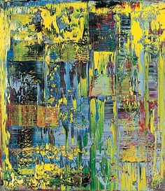 Gerhard Richter, Abstract Painting, 1990 on ArtStack Gerhard Richter Painting, Space Painting, Abstract Pictures, Contemporary Abstract Art, Contemporary Artists, Abstract Canvas, Painting Abstract, Crayon Painting, Abstract Portrait