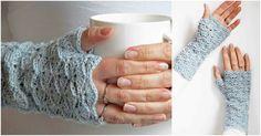 Fingerlesss Crochet Gloves