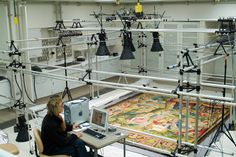 Textile Conservation at the Metropolitan Museum of Art, NYC. Perhaps this is more preservation in art, via science.