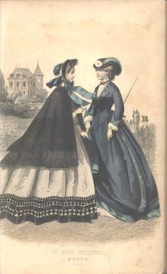 March, 1863 - Riding Habit - Peterson's Magazine