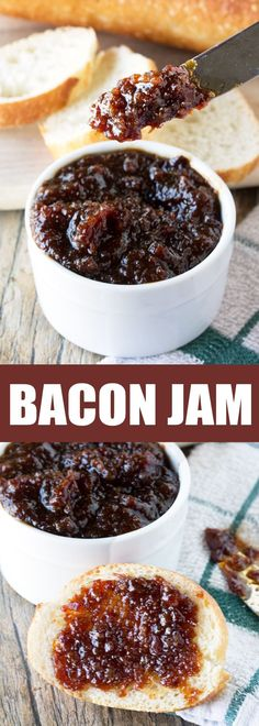 Bacon lovers will go crazy for this ultra delicious Bacon Jam. Use it on everything from toast and pancakes to soups and sandwiches. Bacon jam is a bacon lover's dream come true!
