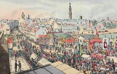 size: Giclee Print: Drawing of Glasgow Fair, from 'The Glasgow Looking Glass', 1825 by Scottish School : Entertainment Gorbals Glasgow, Glasgow Library, Glasgow Green, Glasgow Scotland, Most Beautiful Cities, Travel Posters, Paris Skyline, Giclee Print, Vintage World Maps