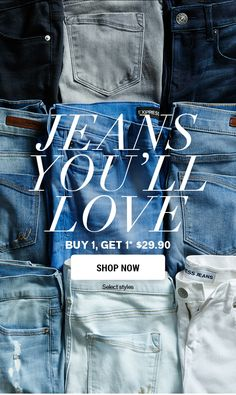 dig the photo background. making the jeans appear more like a texture than a product. NICE