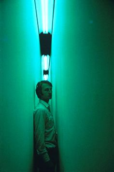green light corridor / 1970 / Bruce Nauman