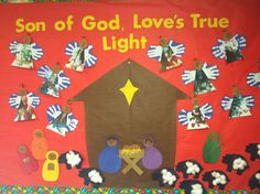 Christmas bulletin board by the wonderful Mrs. Amanda