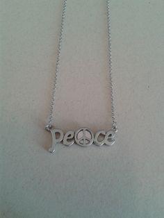 Colar Peace -- Acesse nosso site: http://debbysmendes.wix.com/sweetneon