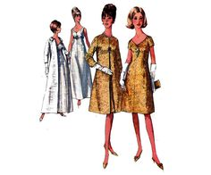 60s Coat and Dress Pattern Simplicity 6219 by allthepreciousthings