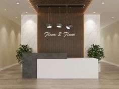 Reception Desk | Floor 2 Floor Reception Counter Design, Curved Reception Desk, Office Reception Design, Reception Desks, Office Counter Design, Shop Counter Design, Design Salon, Bureau Design, Office Interior Design