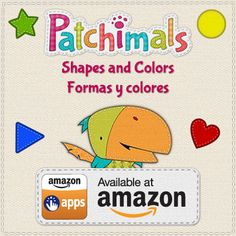+Patchimals  - Shapes and colors is now also available at +Amazon.com Appstore for Android! Buy it here: http://amzn.to/1g2J6ea. Compatible with Kindle Fire! Earn 54 coins when you buy our app! // Patchimals - Formas y colores está disponible también en el Appstore de Amazon para Android. Cómpralo aquí http://amzn.to/1g2J6ea. Compatible con Kindle Fire! Obtén 54 monedas de Amazon cuando compres nuestra app. #kidsapps #appsforkids #amazon #amazonkindlefire #application #android