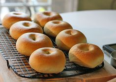 homemade bagels [I think this recipe might be beyond my current skill level, but maybe someday I'll get there. :)]