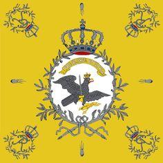 """Bandiera di guerra del 3 rgt. Fanteria prussiana """"von Anhalt-Dessau"""""""