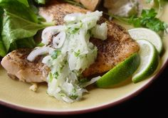 Recipe of the Day: Roast Salmon with Lime Salsa