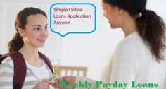 Weekly payday loans are providing instant financial help to the people at the time of desire. It is mostly considered as short term credit which is provided to people without taking into consideration their credit scores. These loans are finances friendly solution for dealing with their unexpected expenses.