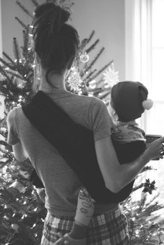 the sling diaries: bridget and parker babywearing!