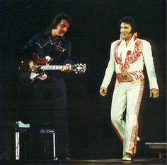 Good friends making music: Elvis Presley and John Wilkinson