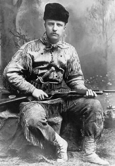 Theodore Roosevelt fell in love with the Winchester rifle long before he became president.