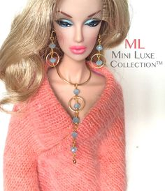 Fashion Doll Jewelry for Fashion Royalty by MiniLuxeCollection