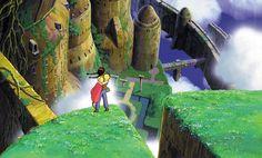 Castle In The Sky. Directed by Hayao Miyazaki.