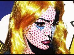 Pop Art! - Roy Lichtenstein -Makeup Tutorial!
