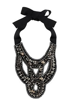 Great statement necklace to wear with formal dresses or simple Tees; $35