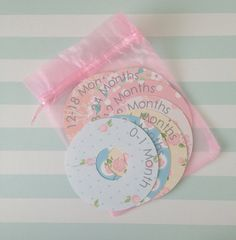 Baby Clothes Dividers by AliceJoonCards on Etsy